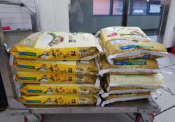 밀양농협 협동조합(조합장 박기철) 쌀 100kg 후원물품 전달